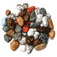 Chocolate Beach Pebble - 3 LB Bag