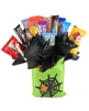 Seasonal-Spider Bag Holiday Candy Bouquet