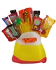 Seasonal-Candy Corn Bag Holiday Candy Bouquet