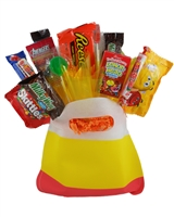 Candy Corn Bag Holiday Candy Bouquet