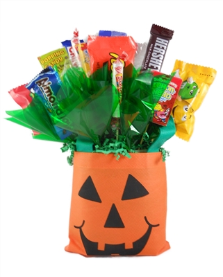 Pumpkin Bag Holiday Candy Bouquet