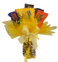 M&Ms Candy Bouquet