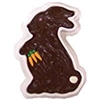9 oz Chocolate Nut Fudge Bunny