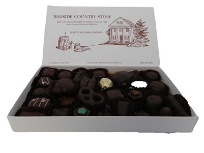 Nuts, Creams & Chewies (Dark Chocolate), 1 lb Box