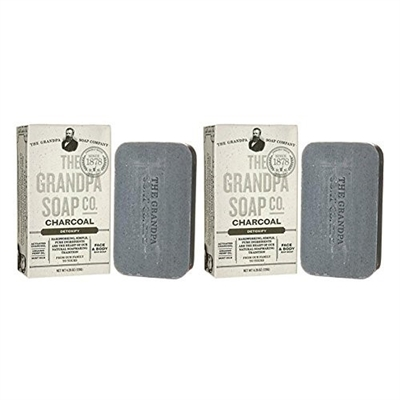 Charcoal Soap Bar (2-Pack)