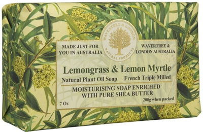 Australian Soap - Wavertree & London - Lemon Myrtle & Lemongrass
