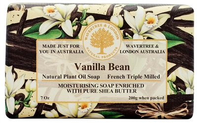 Australian Soap - Wavertree & London - Vanilla Bean