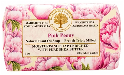 Australian Soap - Wavertree & London - Pink Peony