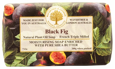 Australian Soap - Wavertree & London - Black Fig