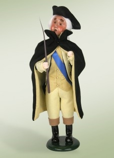 Byers' Choice Caroler -George Washington