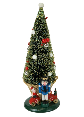 Byers' Choice Caroler - Large Tree with Toys