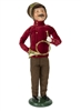 Byers' Choice Caroler - Burgundy Family Man