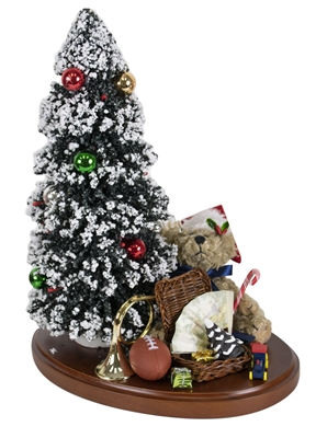 Byers' Choice  - Tree on Base with Toys