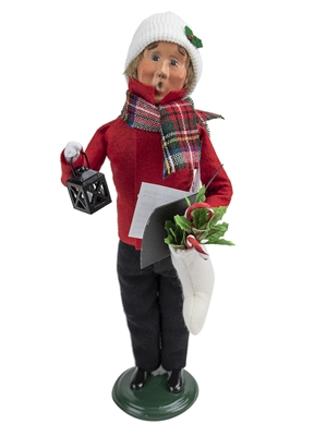 Byers' Choice Caroler - Family with Stockings Man