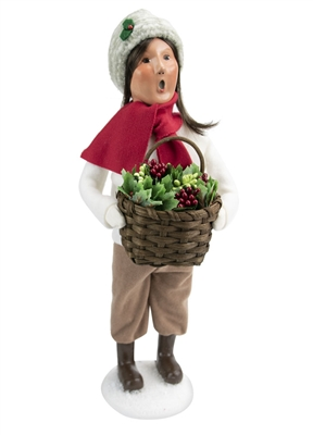 Byers' Choice Caroler - Woman with Greens