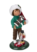 Byers' Choice Caroler - Toddler with Treats