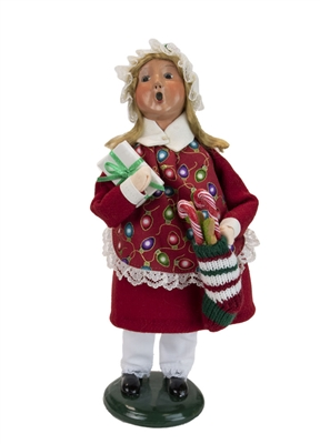 Byers' Choice Caroler - Stocking Girl