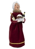 Byers' Choice Caroler - Wine Mrs Claus