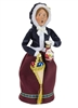 Byers' Choice Caroler - Glass Ornament Woman