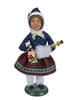 Byers' Choice Caroler - Glass Ornament Girl