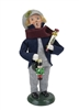 Byers' Choice Caroler - Glass Ornament Boy