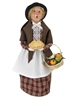 Byers' Choice Caroler - Woman with Pie