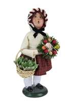 Byers' Choice Caroler - Girl with Holiday Greens