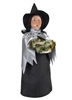 Byers' Choice Caroler - Witch with Silver Cape