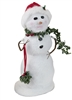 Byers' Choice Caroler - Snowman with Kissing Ball