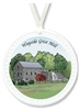 Barlow Designs - Wayside Grist Mill Ornament