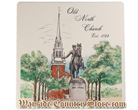 Barlow Designs - Old North Church Trivet