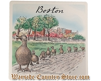 Barlow Designs - Make Way For Ducklings Boston Trivet