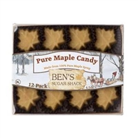 Ben's Sugar Shack - 12 Pack Leaf Candy