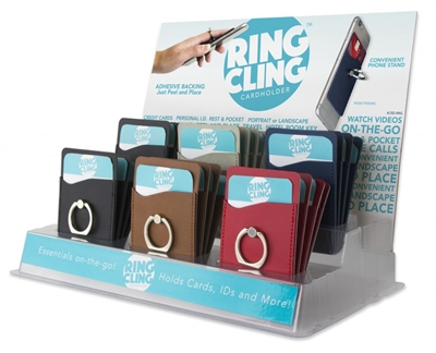 RING HOLDER – CARD CLING RING HOLDER