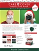 Care Cover Protective Xmas Face Mask - Adults
