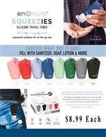 Hand Sanitizer - Squeezies - 2 pk