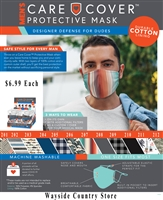 Care Cover Protective Face Mask-Mens