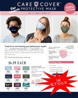 Care Cover - Say What?! Face Mask