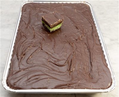 Chocolate Mint Fudge - 5 lb Tray