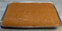Pumpkin Pie Fudge 5 LB Tray