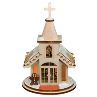 Old World Christmas-Ginger Cottages - Christmas Chapel