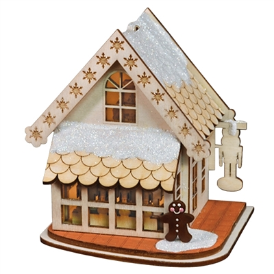 Old World Christmas-Ginger Cottages - Drosselmeyer's Nutcracker Shop