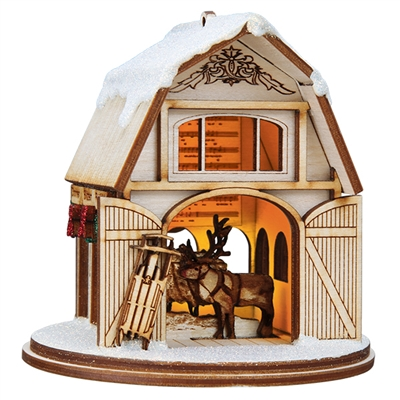 Ginger Cottages - Santa's Reindeer Barn