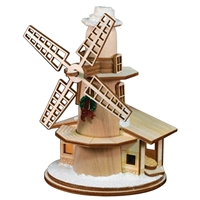 Old World Christmas-Ginger Cottages - Windmill