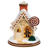 Old World Christmas-Ginger Cottages - Goody, Goody Gumdrop Shop