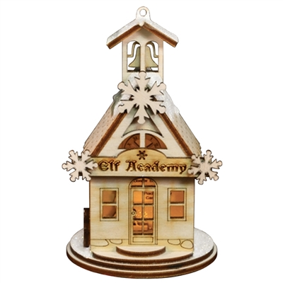 Ginger Cottages - Elf Academy One Room School House