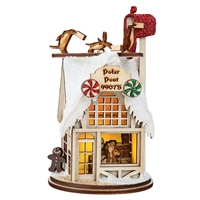 Old World Christmas-Ginger Cottages - Polar Post Office