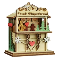 Old World Christmas-Ginger Cottages - Christmas Market