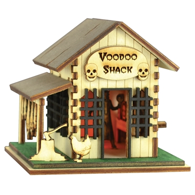 Old World Christmas-Ginger Boo! Dr. Roscoe's Voodoo Shack