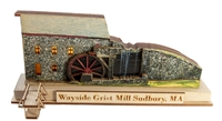 Old World Christmas-Ginger Cottage - Wayside Grist Mill